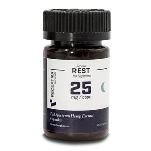 Receptra Naturals Serious Rest Gel Capsules